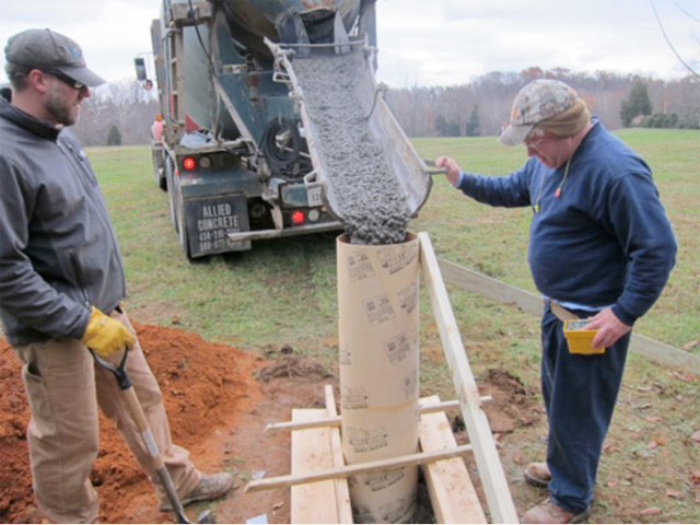 Photo:Drilling VA01 in response to Mineral VA 5.8M Earthquake